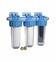 Honeywell FF60 Triplex filter - Honeywell regenwaterfilter