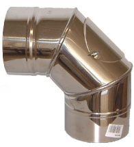 Burgerhout - Galvanise afvoerbocht 90 graden 150 mm egeda