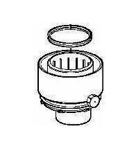 ACV - Sortie fumée gr 60/100 HRE