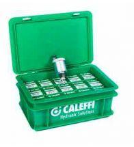 Caleffi - PROMO kunstst koffer 15 x autom.ontl.1/2 met hygrocopische kap