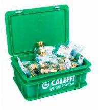 Caleffi - Pakket Aut. Expansievatkop. - 3/4 (met aftap) (8 stuks)