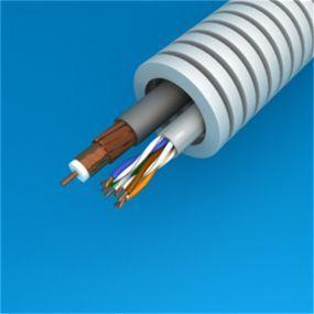 Preflex - 20MM avec câble coax telenet/voo approuvé+câble de données utp categorie 6 par 100M - 1234001466