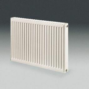 Radiateur Henrad Compact 22 500 2400 3586W EN442 75/65/20 blanc RAL9016