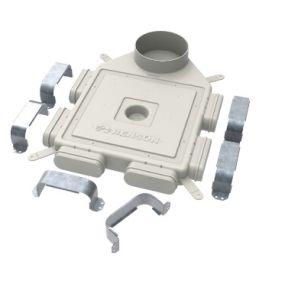 Renson - Easyflex plenum d160 6 raccordements - G0013135