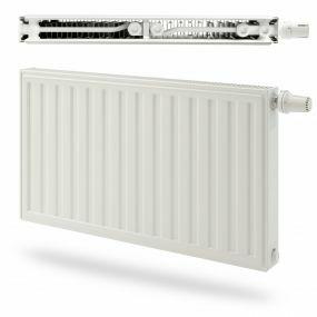 Radiateur Radson Integra E-Flow 21 500 1350 DROITE MILIEU 1589W EN442 75/65/20 blanc RAL9016
