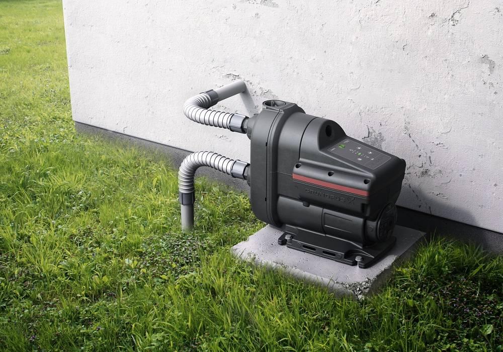 Installer une pompe à eau de pluie